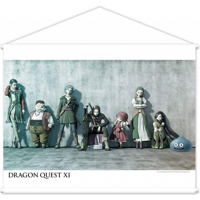 Dragon Quest XI Wall Scroll: C Wall Background