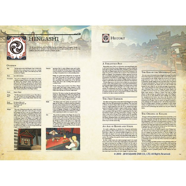 Animation Art & Characters Collectibles ENCYCLOPAEDIA EORZEA THE