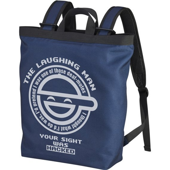 Ghost In The Shell Stand Alone Complex - The Laughing Man 2way Backpack Navy