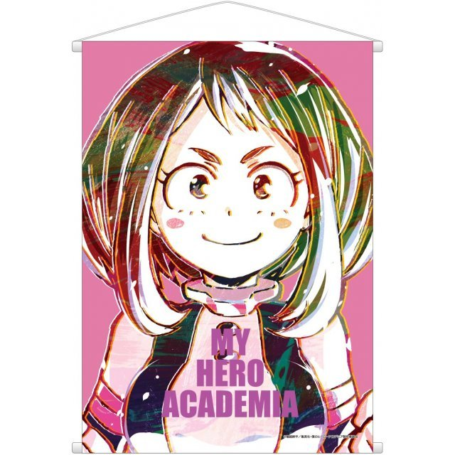 MY HERO ACADEMIA ANI-ART WALL SCROLL: OCHACO URARAKA