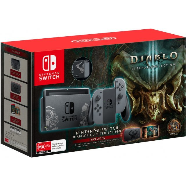 Nintendo Switch: Diablo III Console Bundle [ Limited Edition]