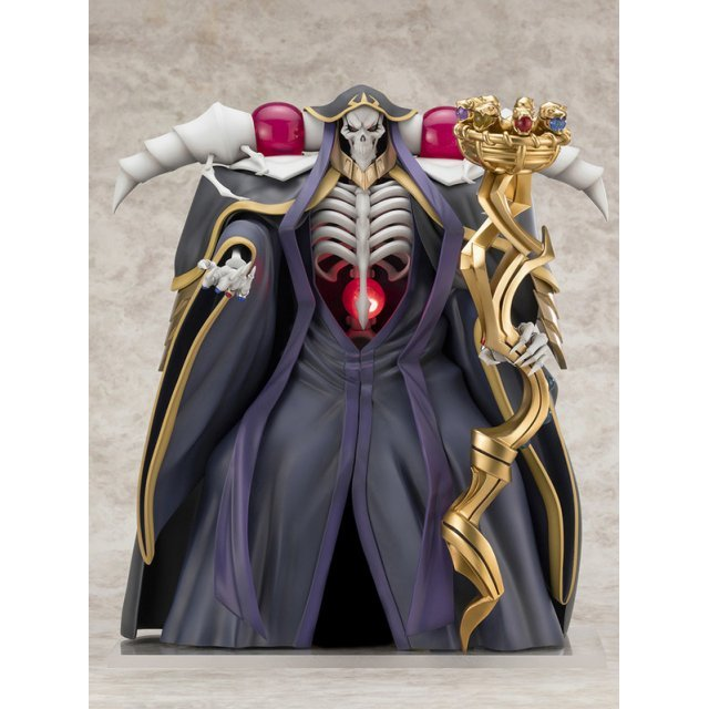 Overlord III 1/7 Scale Pre-Painted Figure: Ainz Ooal Gown