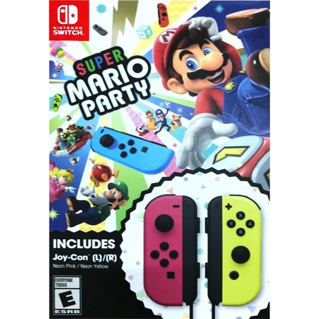 Super Mario Party Joy-Con Bundle (Neon Pink / Neon Yellow) [Limited Edition]