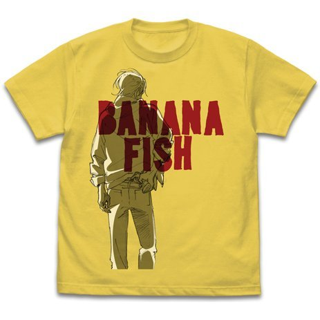 Banana Fish T-shirt Banana (M Size)