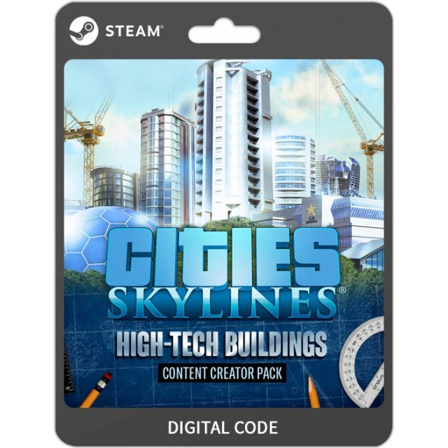 Cities: Skylines - High-Tech Buildings [DLC] steam digital