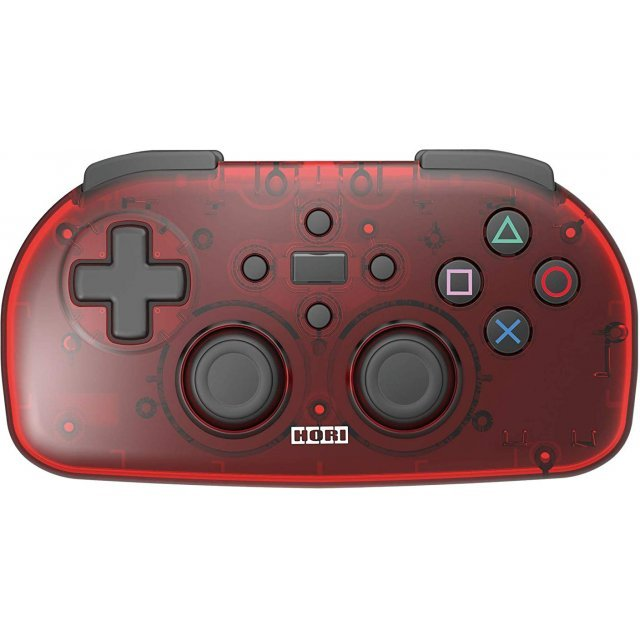 Hori Wireless Controller Light for PlayStation 4 (Clear Red)