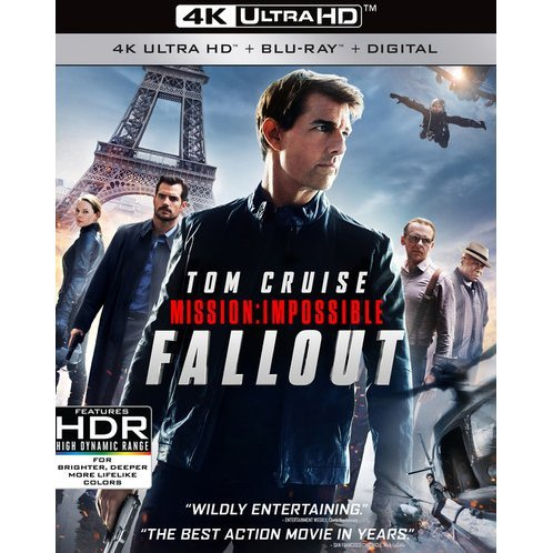 Mission: Impossible - Fallout [4K Ultra HD Blu-ray]