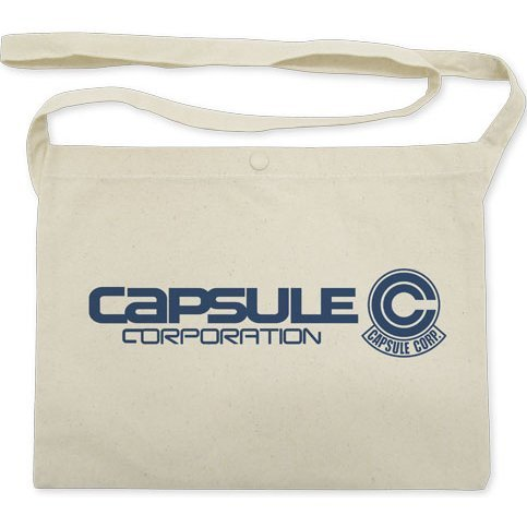 Dragon Ball Z - Capsule Corporation Musette Bag Natural