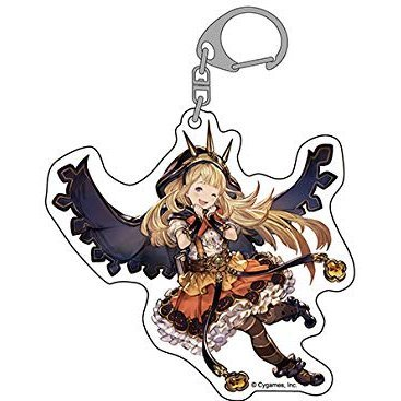 Granblue Fantasy Jumbo Acrylic Key Ring: Cagliostro Halloween Ver.