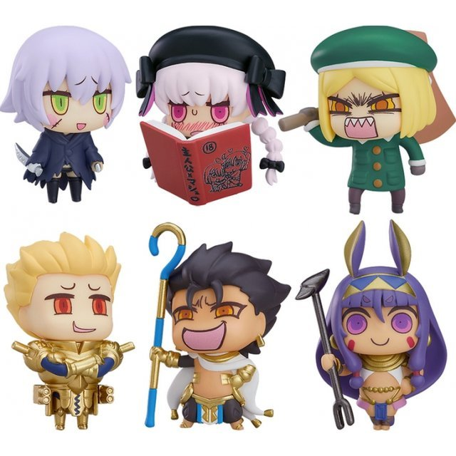 Learning with Manga! Fate/Grand Order Collectible Figures Episode 3 (Set of 6 pieces)