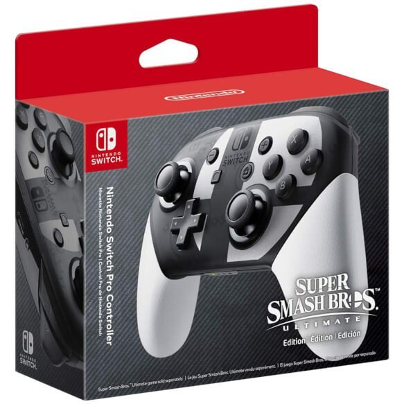 Nintendo Switch Pro Controller [Super Smash Bros. Ultimate Edition]