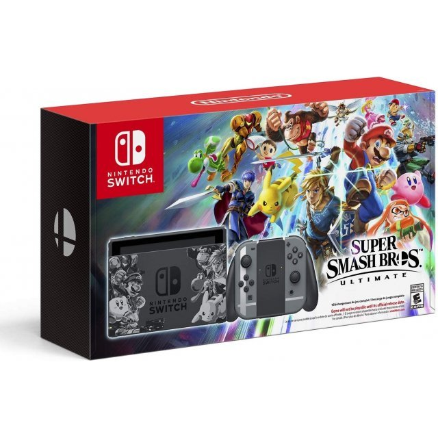 Nintendo Switch Super Smash Bros. Ultimate Special Set [Limited Edition]