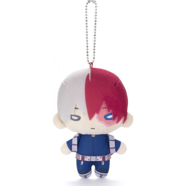 Nitotan My Hero Academia Plush with Ball Chain: Shoto Todoroki (New Costume Ver.)