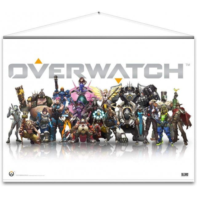 Overwatch Wall Scroll: Heroes