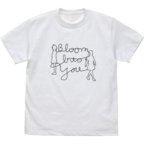 Bloom Into You T-shirt White (S Size)