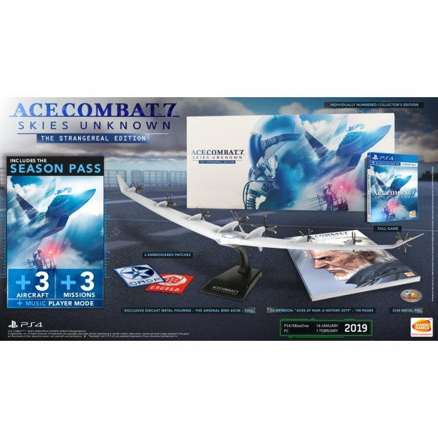 Ace Combat 7: Skies Unknown The Strangereal Edition [Collector's Edition] (English)