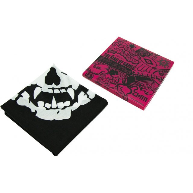 Splatoon 2 - Ika Scull Mask Bandana Black