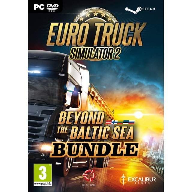 Euro Truck Simulator 2 / Beyond The Baltic Sea Bundle (DVD-ROM)