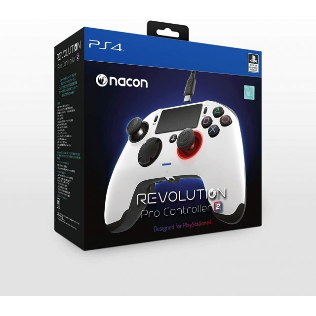 Nacon Revolution Pro Controller 2 for PlayStation 4 (White)