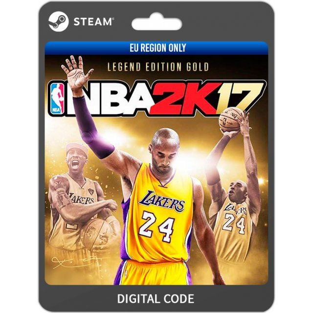 NBA 2K17 [Legend Edition Gold] (EU Region Only)