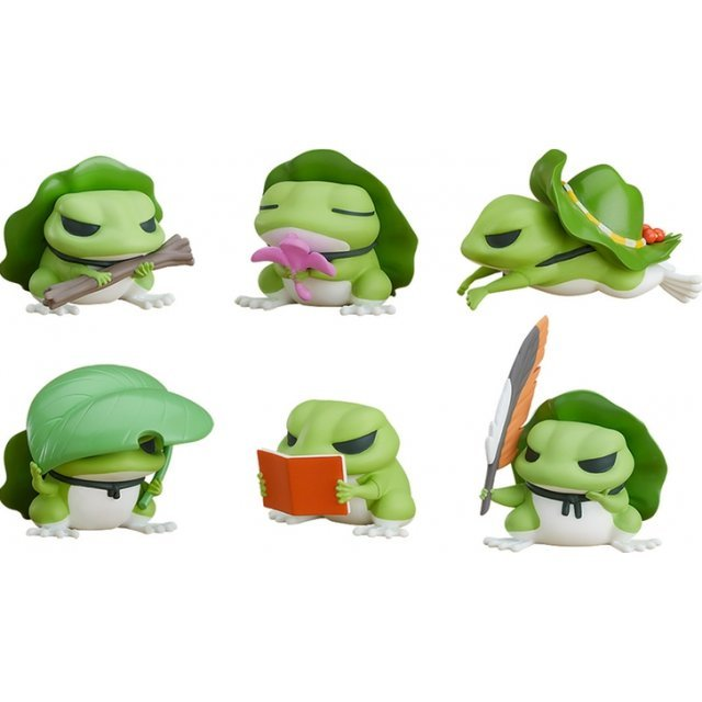 TABI KAERU COLLECTIBLE FIGURES (SET OF 6 PIECES)