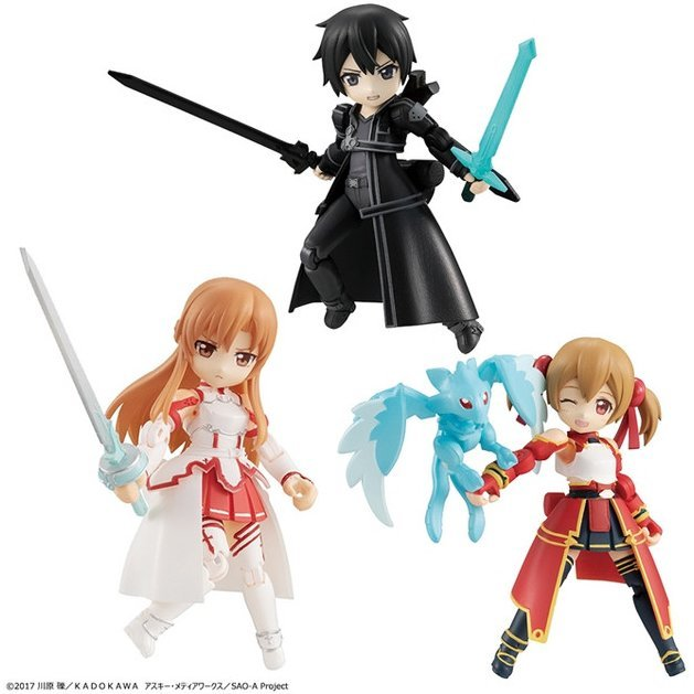 DESKTOP ARMY SWORD ART ONLINE (SET OF 3 PIECES)