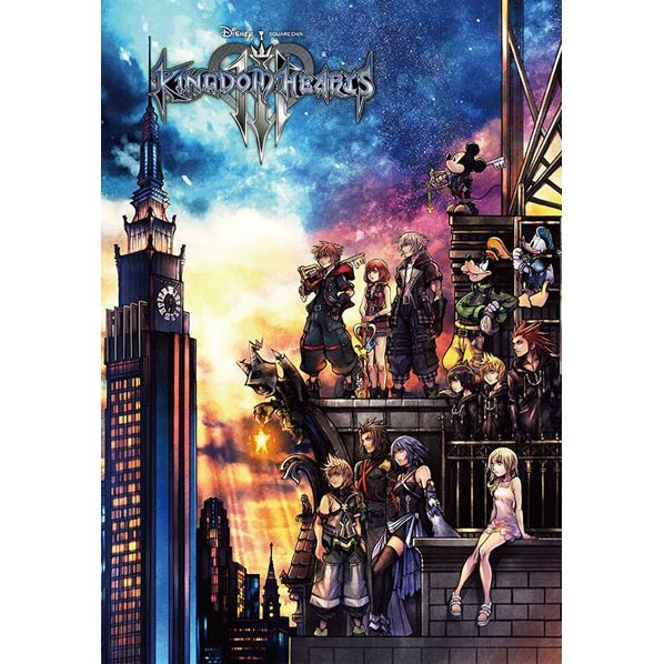 Kingdom Hearts III 1000 Pieces Jigsaw Puzzle