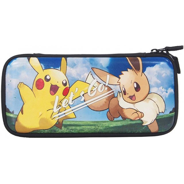 Pocket Monsters Hard Pouch for Nintendo Switch (Pikachu x Eevee)
