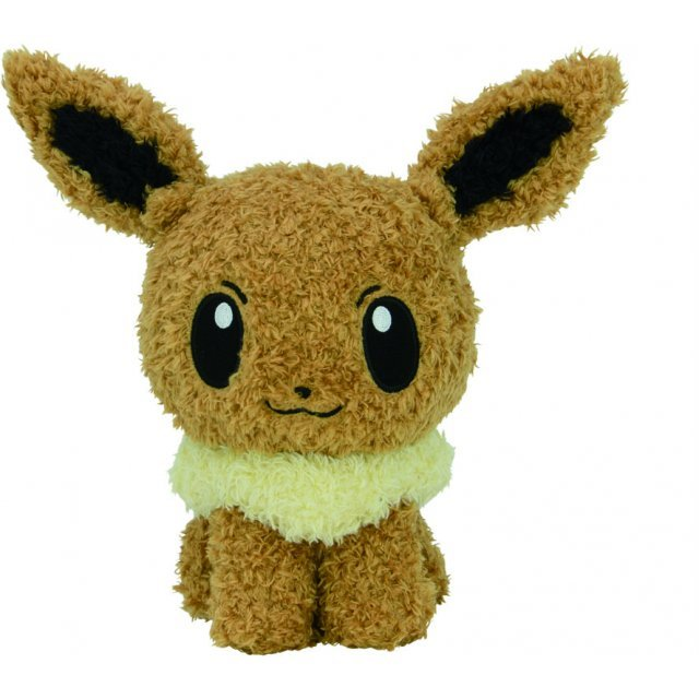 Pokemon Mokomoko Plush: Eevee (Renewal Color)