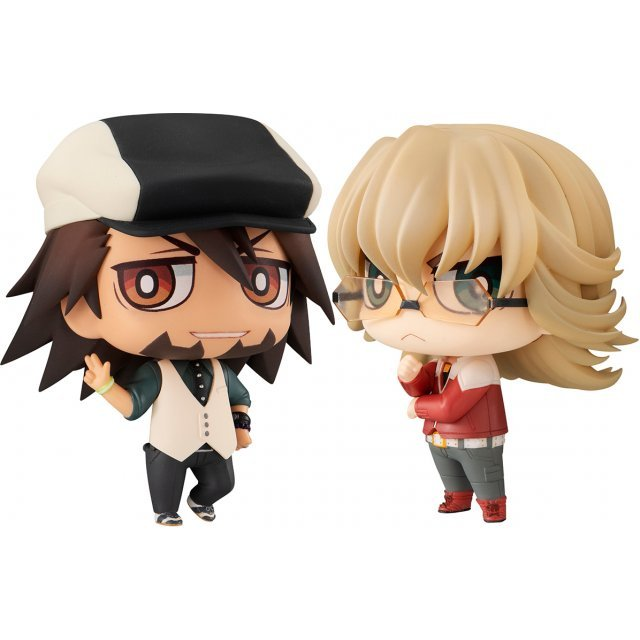 Chimi Mega Buddy Series No. 002 Tiger & Bunny Kotetsu & Barnaby Set