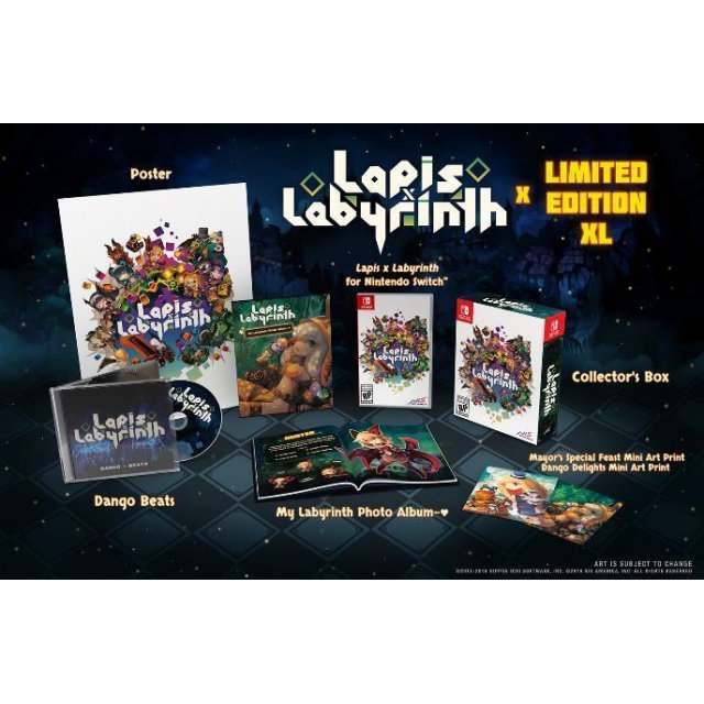 Lapis x Labyrinth [Limited Edition XL]