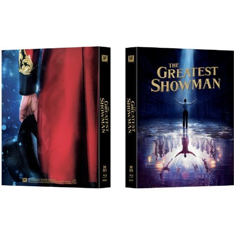 The Greatest Showman (4K UHD+BD) (2-Disc) (Full Slip Steebook)