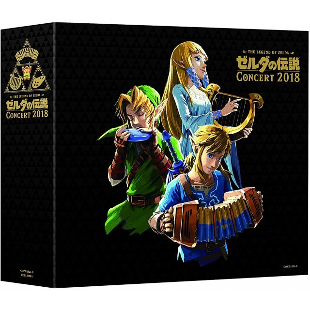 THE LEGEND OF ZELDA CONCERT 2018 [2CD+BLU-RAY LIMITED EDITION]