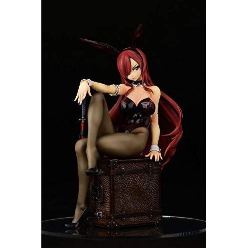 Fairy Tail 1/6 Scale Pre-Painted Figure: Erza Scarlet Bunny Girl Style
