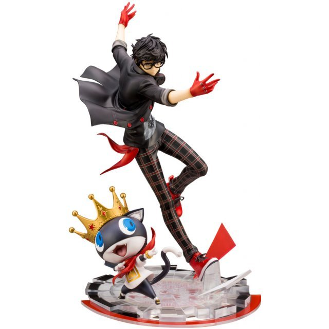 ARTFX J Persona 5 Dancing Star Night 1/8 Scale Pre-Painted Figure: Protagonist & Morgana