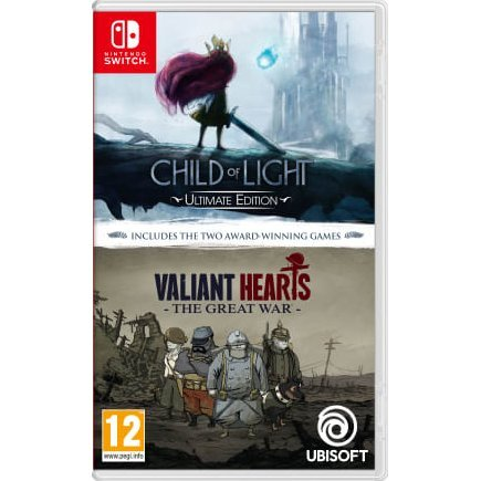 Child of Light: Ultimate Edition / Valiant Hearts: The Great War Double Pack (English & Chinese Subs)