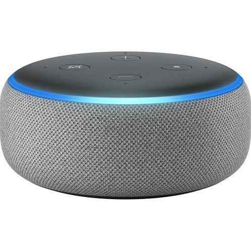 Amazon Echo Dot (3rd Generation) (Heather Gray)