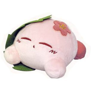 Kirby's Dream Land Fuwafuwa Collection Plush: Kirby Sakuramochi (Re-run)
