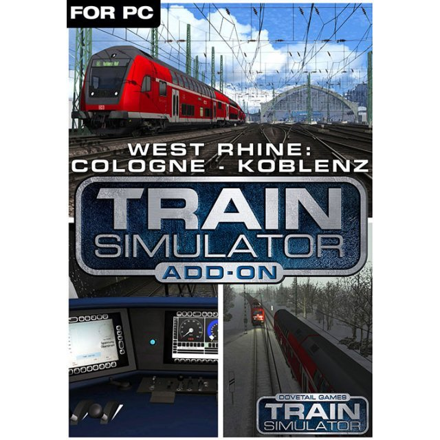 Train Simulator - West Rhine: Köln - Koblenz Route Add-On [DLC] (EU REGION ONLY)
