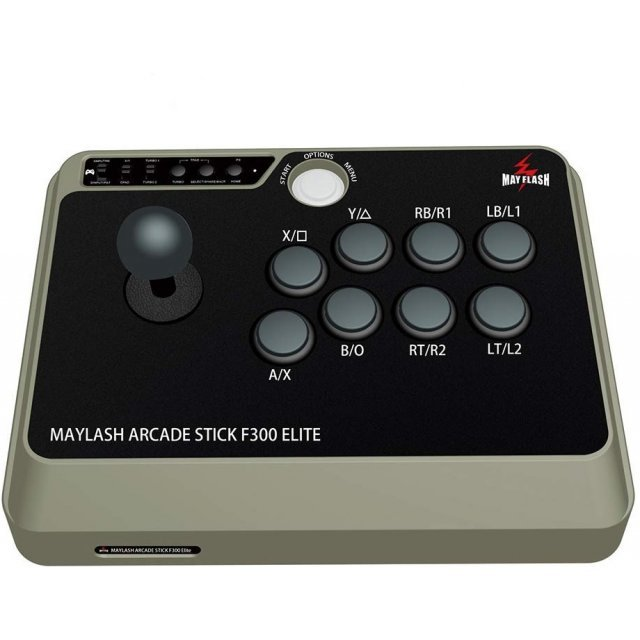 Mayflash Arcade Stick F300 Elite SanWa Buttons