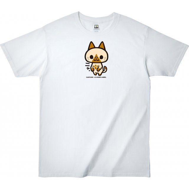 Monster Hunter T-shirt B-Side Label Felyne (M Size)