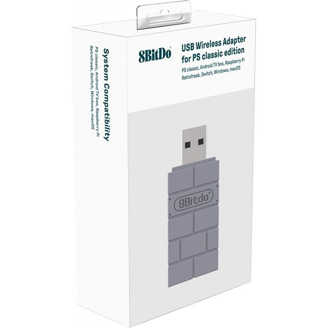 8BitDo USB Wireless Adapter for PS Classic Edition