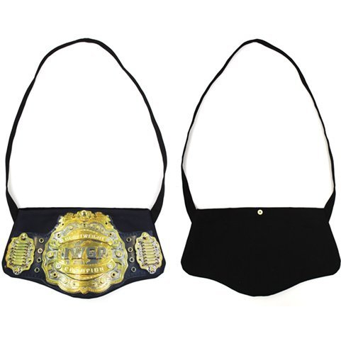 New Japan Pro-Wrestling - 4th Generation IWGP Heavyweight Belt-shaped Musette Bag
