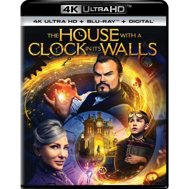 The House With A Clock In Its Walls [4K Ultra HD Blu-ray]
