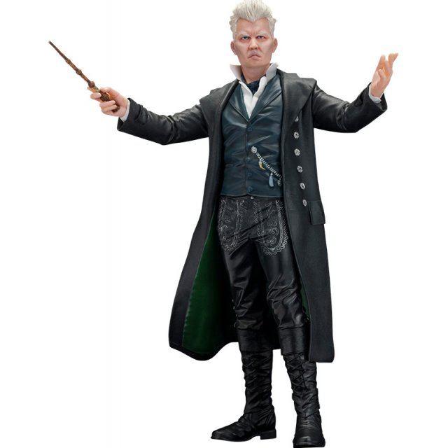 ARTFX+ Fantastic Beasts - The Crimes of Grindelwald 1/10 Scale Pre-Painted Figure: Gellert Grindelwald