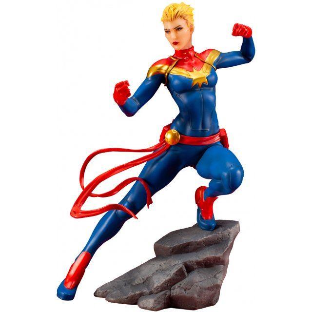 ARTFX+ Marvel Universe 1/10 Scale Pre-Painted Figure: Captain Marvel