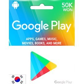 Google Play Gift Card (50000 Won)