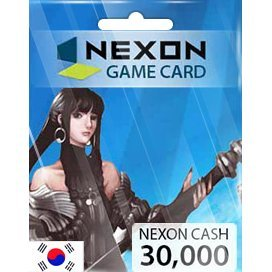 Nexon Cash Card (30000 Won)