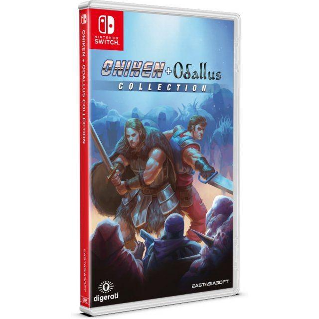 [PRECO] Les Jeux PLAY-ASIA edition limitée Oniken-odallus-collection-583533.13