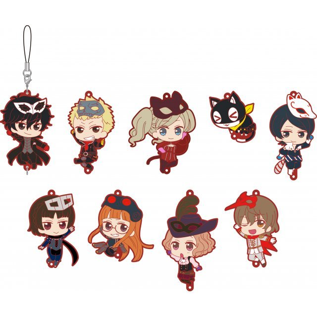 Persona5 the Animation Rubber Strap Collection (Set of 9 pieces)
